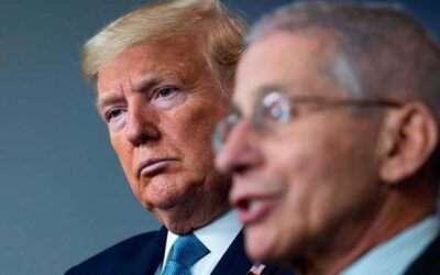 Fauci and the Media Play Trump